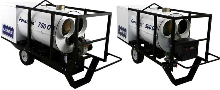 Foreman Indirect-fired Portable Heater